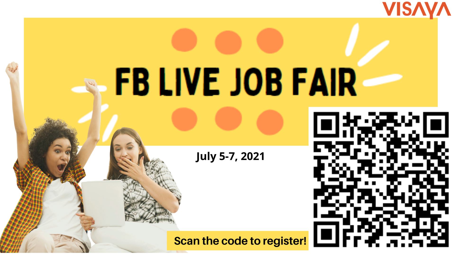 Virtual Job Fair Registration.poster